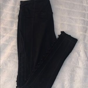 Victoria's Secret sport legging with side cutouts
